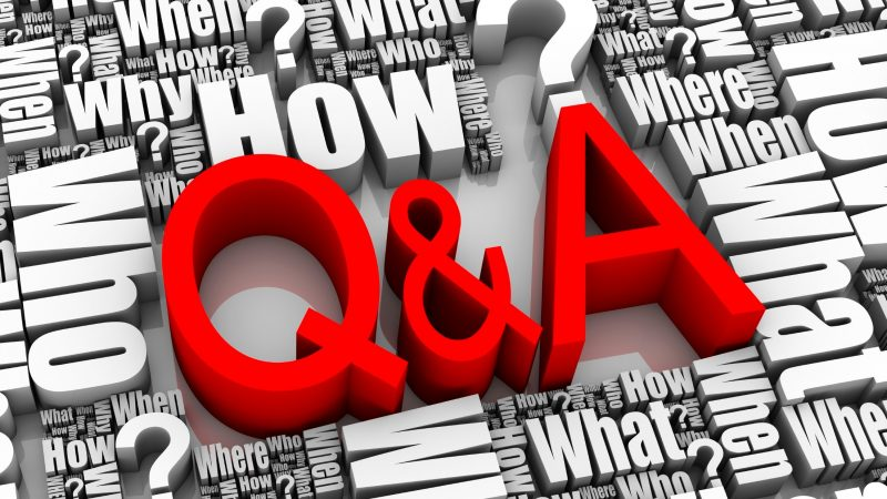what is question and answer submission