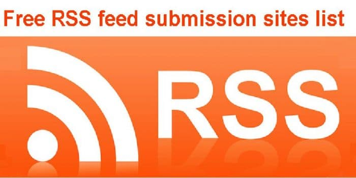 RSS Feed Submission Websites - SEO - Informations